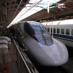 En dan met de Shinkansen van Kitakyushu (waarvan het station eigenlijk Koura heet) naar Osaka.